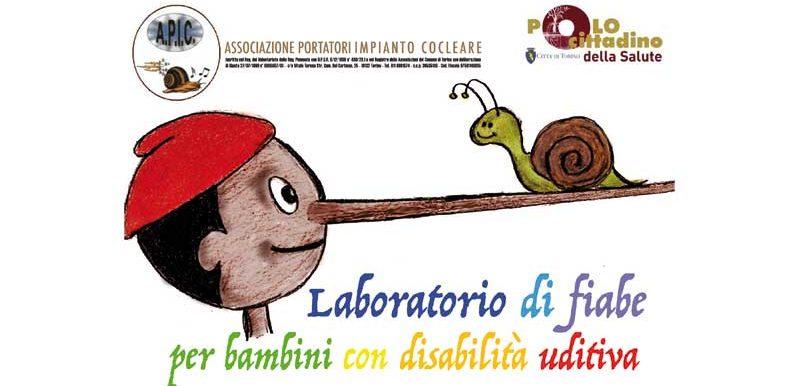Laboratorio di fiabe per bambini con disabilità uditiva