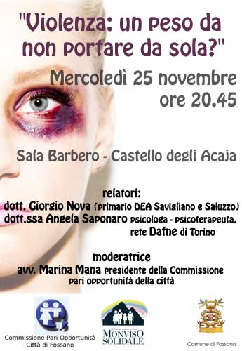 evento 25 novembre